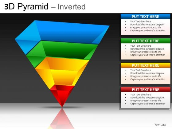 inverted pyramid powerpoint slides powerpoint templates