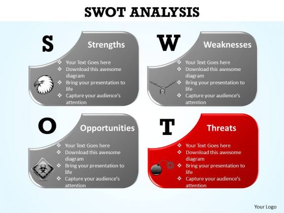 Powerpoint Designs Diagram Swot Analysis Ppt Template Powerpoint