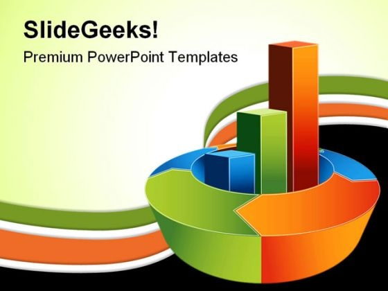 Bar Chart Business PowerPoint Template 0910 PowerPoint Themes
