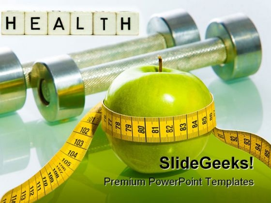 Fitness Health Powerpoint Template 0610 Powerpoint Themes